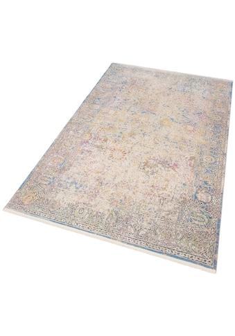 merinos Teppich »Colorful 24030«, rechteckig, 7 mm Höhe, Wohnzimmer kaufen