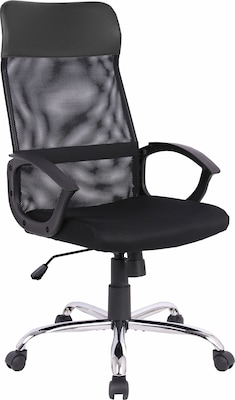 schwarzer Bürostuhl