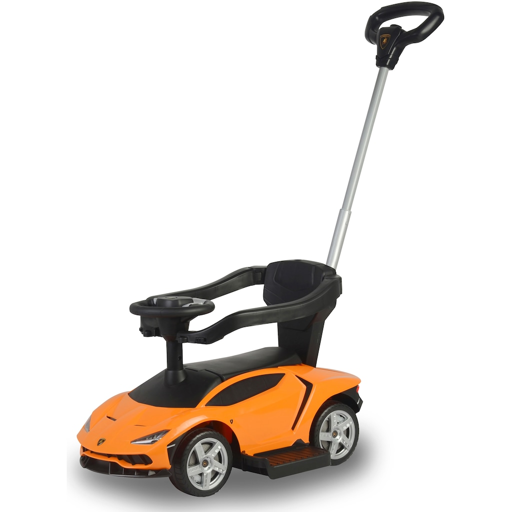 Jamara Rutscherauto »JAMARA Kids, Lamborghini Centenario, orange«, mit Sound am Lenkrad
