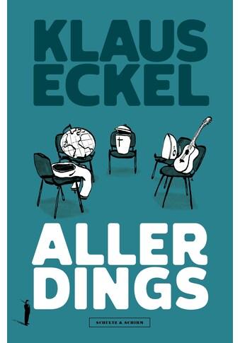 Buch »AllerDings / Klaus Eckel« kaufen
