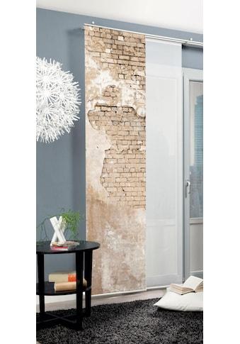 HOME WOHNIDEEN Schiebegardine »WALLONA«, HxB: 245x60, Dekostoff Digitaldruck kaufen