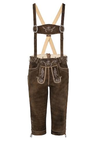 Spieth & Wensky Lederhose Vittorio 66 cm, Latz und Stegträger kaufen