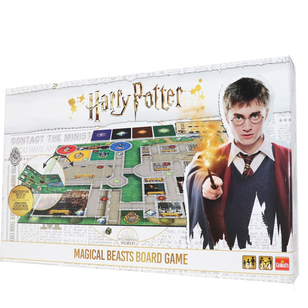 Goliath® Spiel »Harry Potter - Magical Beasts Board Game«