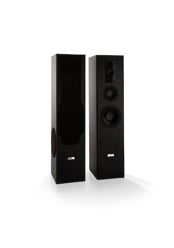 Auna Standlautsprecher 3 - Wege - HiFi - Lautsprecher 700 W max. schwarz »Line E 1005« kaufen