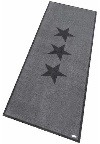 Läufer, »Sterne«, Zala Living, rechteckig, Höhe 7 mm, maschinell getuftet kaufen