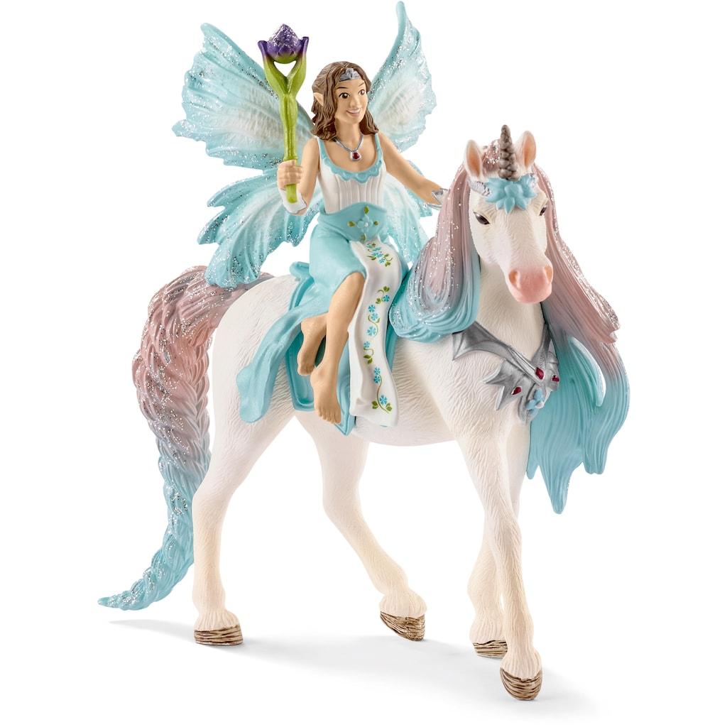 Schleich® Spielfigur »bayala, Eyela mit Prinzessinnen-Einhorn (70569)«