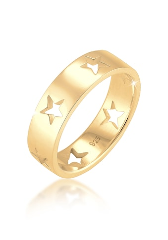 Elli Fingerring »Sterne Astro Cut Out Bandring 925 Sterling Silber« kaufen