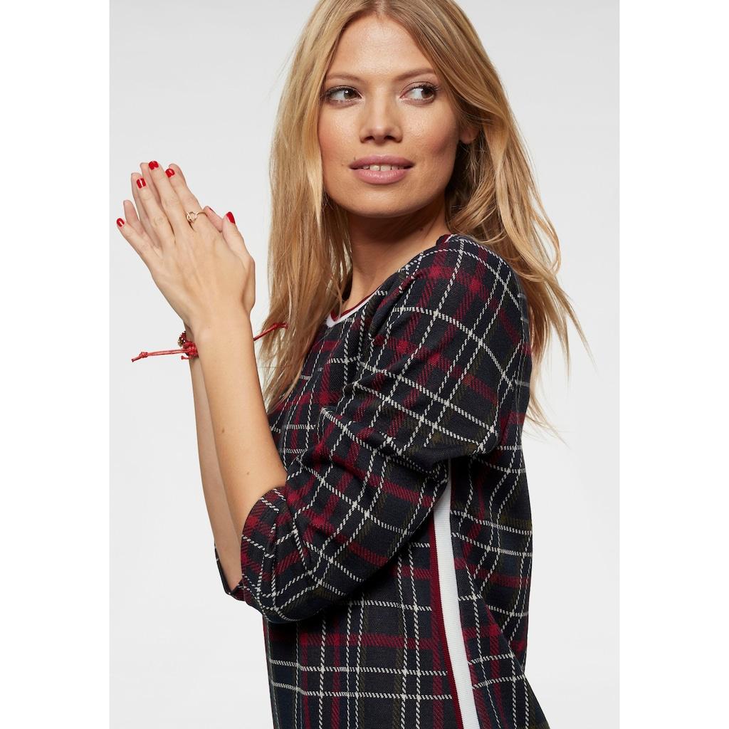 Aniston CASUAL Jerseykleid, im Karo Dessin