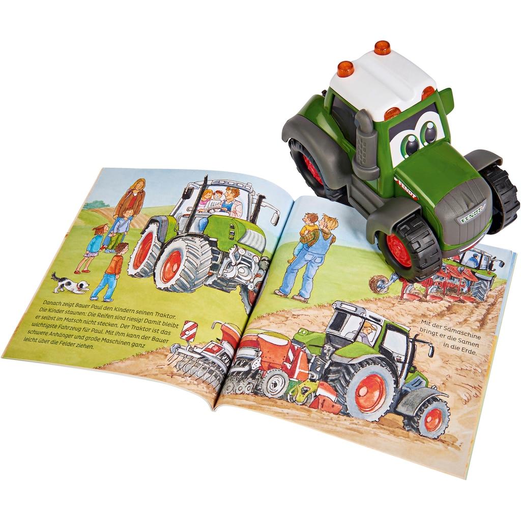 Dickie Toys Spielzeug-Traktor »Was ist Was - Bauernhof«, inkl. Buch