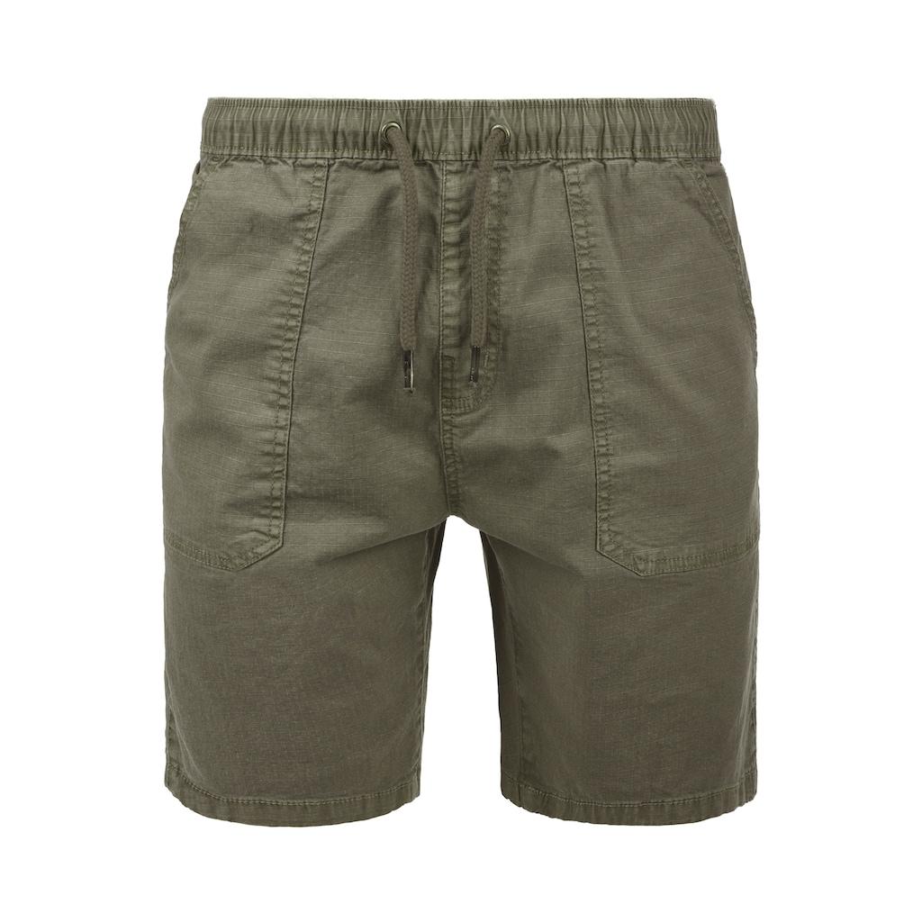 Indicode Shorts »Francesco«, kurze Hose mit elastischem Bund