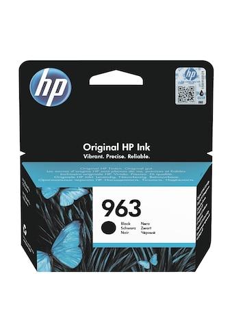 HP Tintenpatrone HP 963 schwarz kaufen