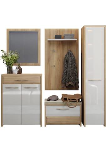 Home affaire Garderoben-Set »Gala«, (Set, 5 St.), Soft-Close Funktion, Hochglanz UV... kaufen