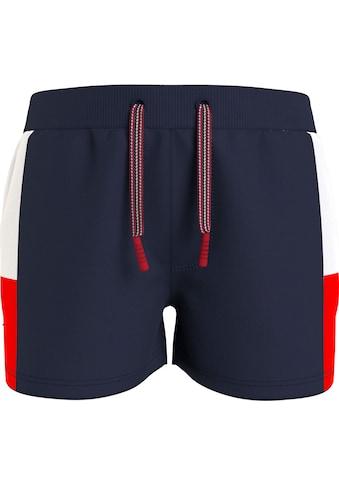 TOMMY HILFIGER Shorts, mit seitlichen Einsätzen kaufen