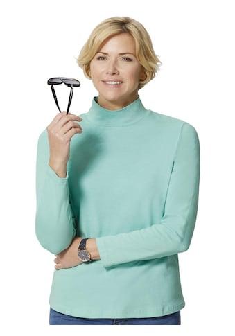 Casual Looks Shirt in dezenten Pastelltönen kaufen