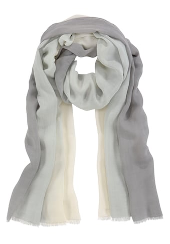 J.Jayz Modeschal, Ombrè-Schal, Mehrfarbiger Verlauf, Rechteckige Form kaufen