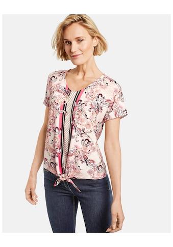 GERRY WEBER T - Shirt 1/2 Arm »Shirt mit Mustermix« kaufen