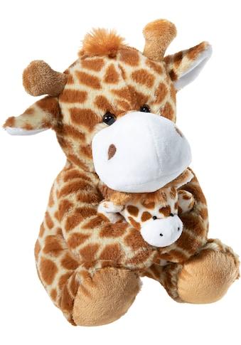 Heunec® Kuscheltier »Giraffe mit Baby, 25 cm« kaufen