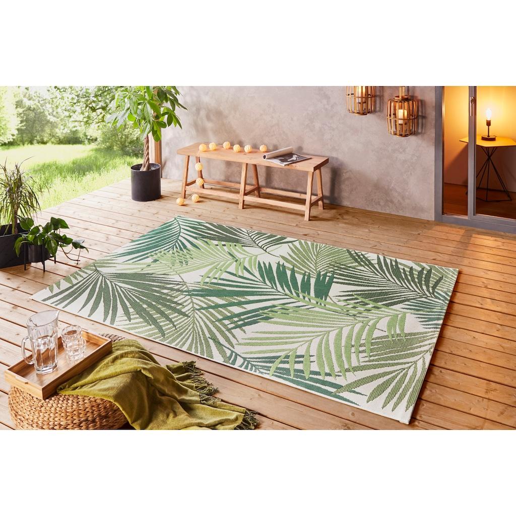 bougari Teppich »Vai«, rechteckig, 8 mm Höhe, In- und Outdoor geeignet, Wohnzimmer