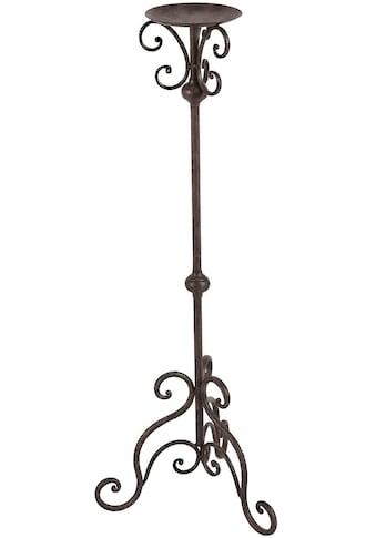 Ambiente Haus Wandkerzenhalter »Kerzenständer - antikbraun 80cm« kaufen