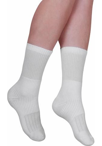Fußgut Strümpfe »Sprungelenk Strumpf«, (2 Paar), 2 Paar, wirkt wie eine Bandage kaufen