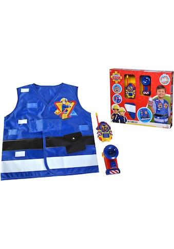 SIMBA Spielzeug-Schutzweste »Feuerwehrmann Sam, Feuerwehr Rettungsset«, mit... kaufen