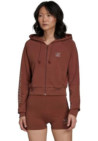 adidas Originals Kapuzensweatjacke »CROPPED TRACK TOP« kaufen