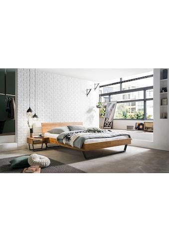 HASENA Massivholzbett »Asti«, mit einer Fußhöhe von 20 cm kaufen