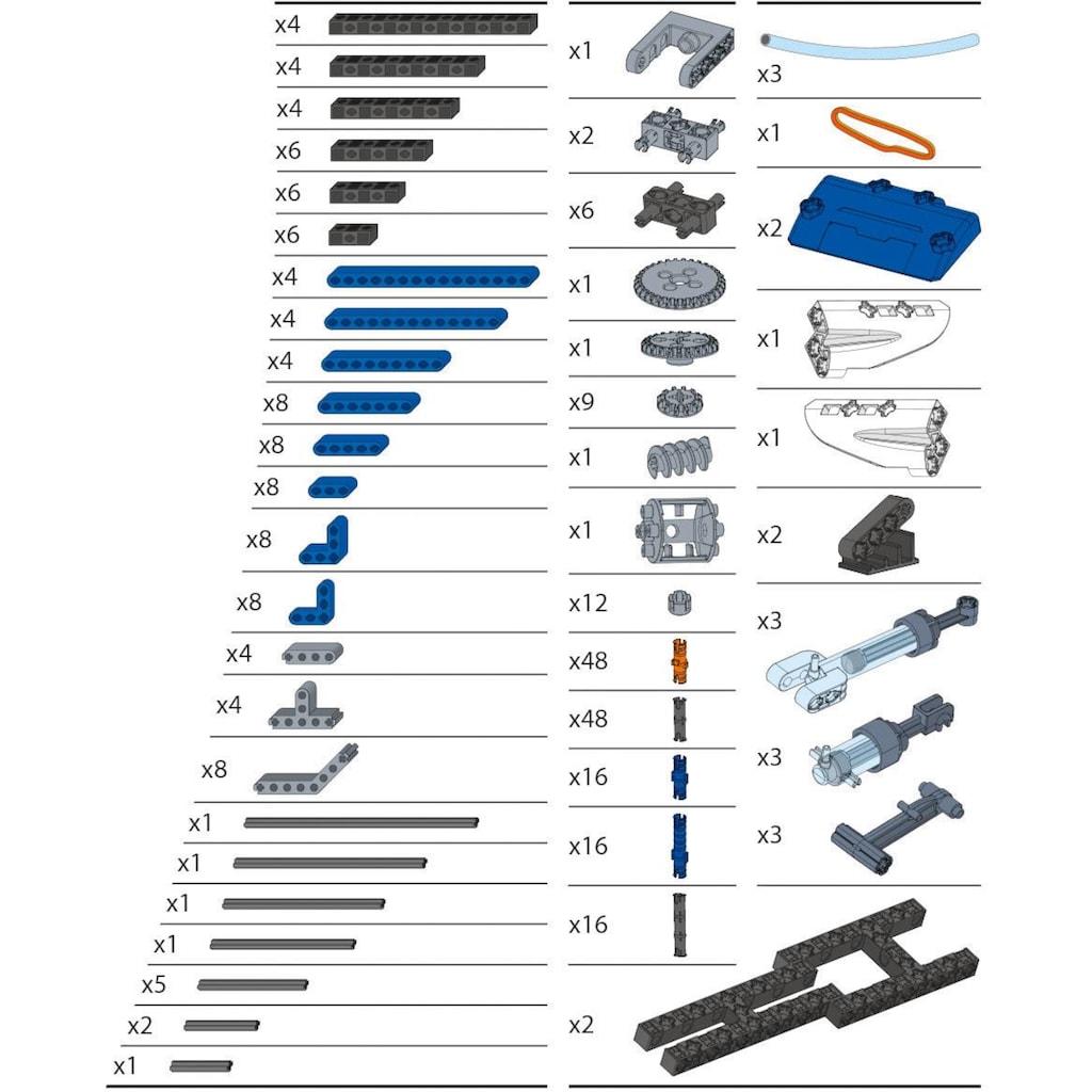 Clementoni® Modellbausatz »Galileo - Construction Challenge - Hydraulik«