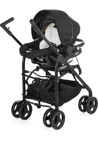 Chicco Kombi-Kinderwagen »Trio-System Sprint, black night«, mit Regenschutz; Kinderwagen kaufen