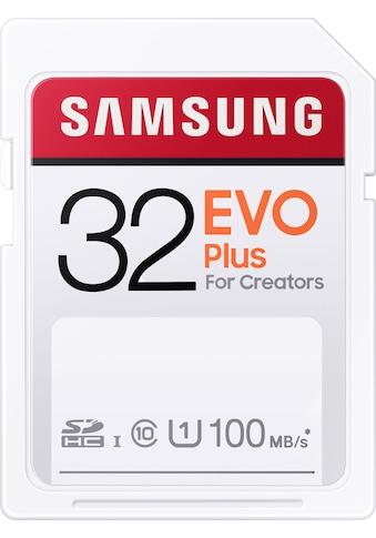 Samsung Speicherkarte »EVO Plus 32GB SDHC UHS-I U1«, (UHS Class 1 100 MB/s... kaufen