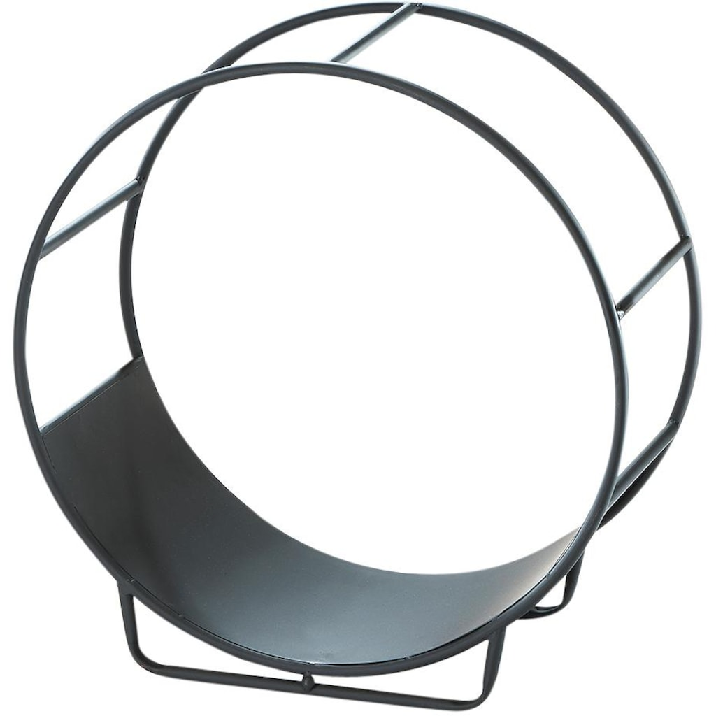 locker Kaminholzkorb »CIRCLE«