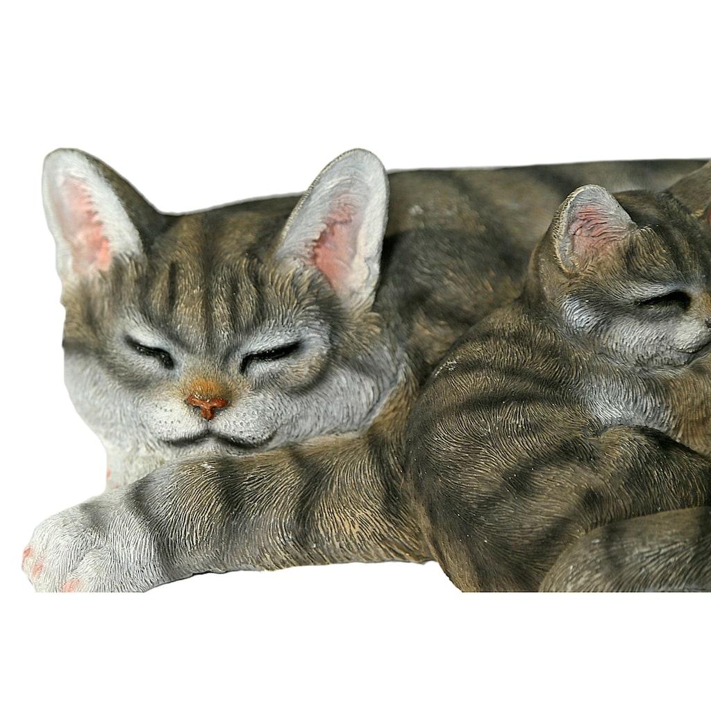 Casa Collection by Jänig Tierfigur »Katze mit jungen liegend«