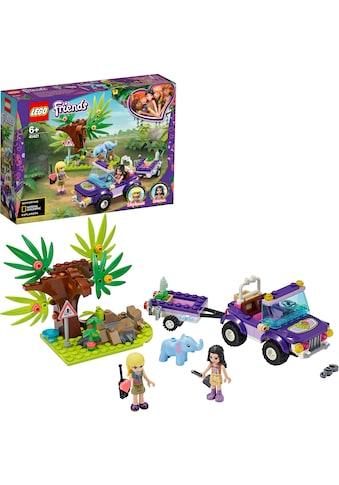 LEGO® Konstruktionsspielsteine »Rettung des Elefantenbabys mit Transporter (41421),... kaufen