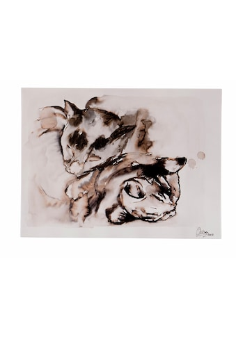 Guido Maria Kretschmer Home&Living Leinwandbild »Katzen-Paar«, von Frank Mutters,... kaufen