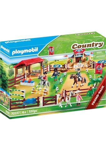 """Playmobil® Konstruktions - Spielset """"Großer Reitturnierplatz (70337), Country"""", Kunststoff, (320 - tlg.) kaufen"""