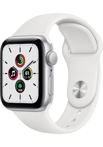 Apple Smartwatch »Series SE (2020), GPS, Aluminium-Gehäuse, 40 mm mit Sportarmband« kaufen