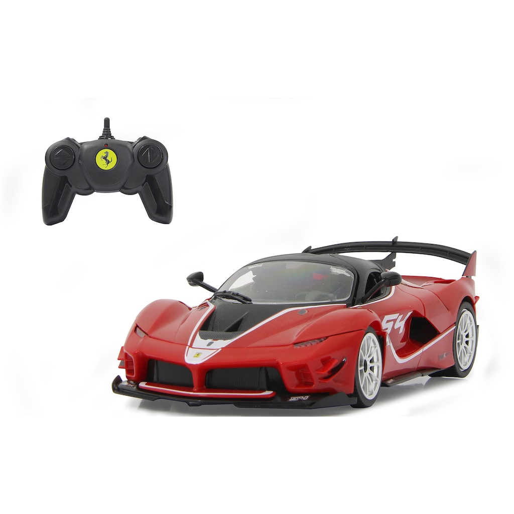 Jamara Modellbausatz »Ferrari FXX K Evo 1:18, rot - 2,4 GHz«, 1:18