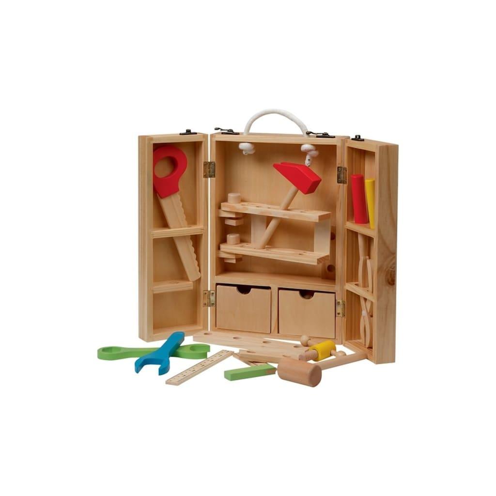 roba® Spielwerkzeugkoffer »klappbar«, (29 tlg.)