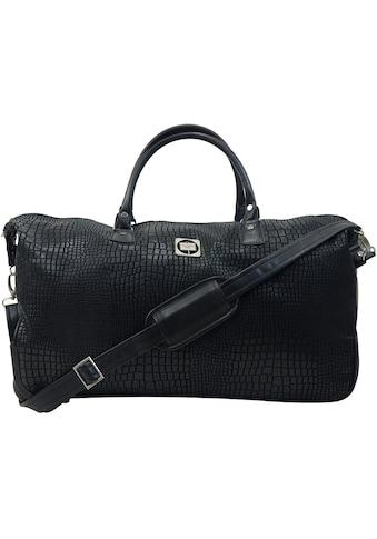 Hauptstadtkoffer Reisetasche »Tiergarten, 56 cm, schwarz« kaufen