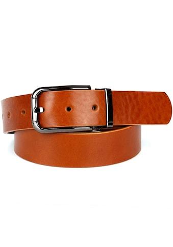Anthoni Crown Ledergürtel, mit modischer Schließe kaufen