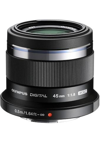 Olympus Festbrennweiteobjektiv »M.ZUIKO DIGITAL 45 mm« kaufen