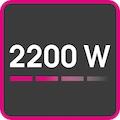 Rowenta Haartrockner »CV5712 Elite Motion Dry«, 2200 W