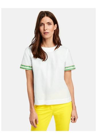 GERRY WEBER Bluse 1/2 Arm »Ausgestellte 1/2 Arm Bluse« kaufen