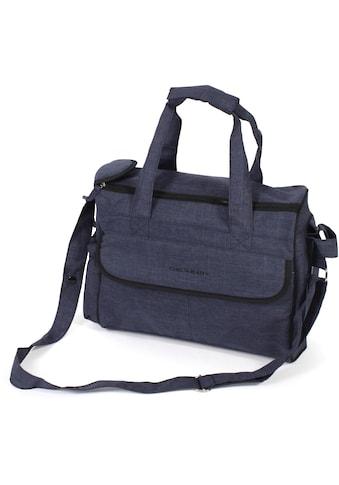 CHIC4BABY Wickeltasche »Komfort, jeans navy« kaufen