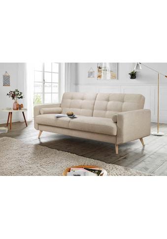 andas 3-Sitzer »Jelle«, auch mit Bettfunktion und Bettkasten, inkl. Rollkissen kaufen