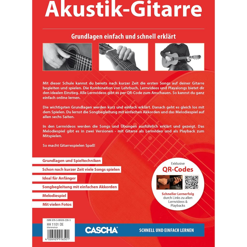Cascha Konzertgitarre »Stage Series«, 3/4, inkl. Gitarrenschule und Stimmgerät