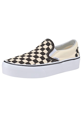 Vans Plateausneaker »Classic Slip-On Platform Checkerboard« kaufen