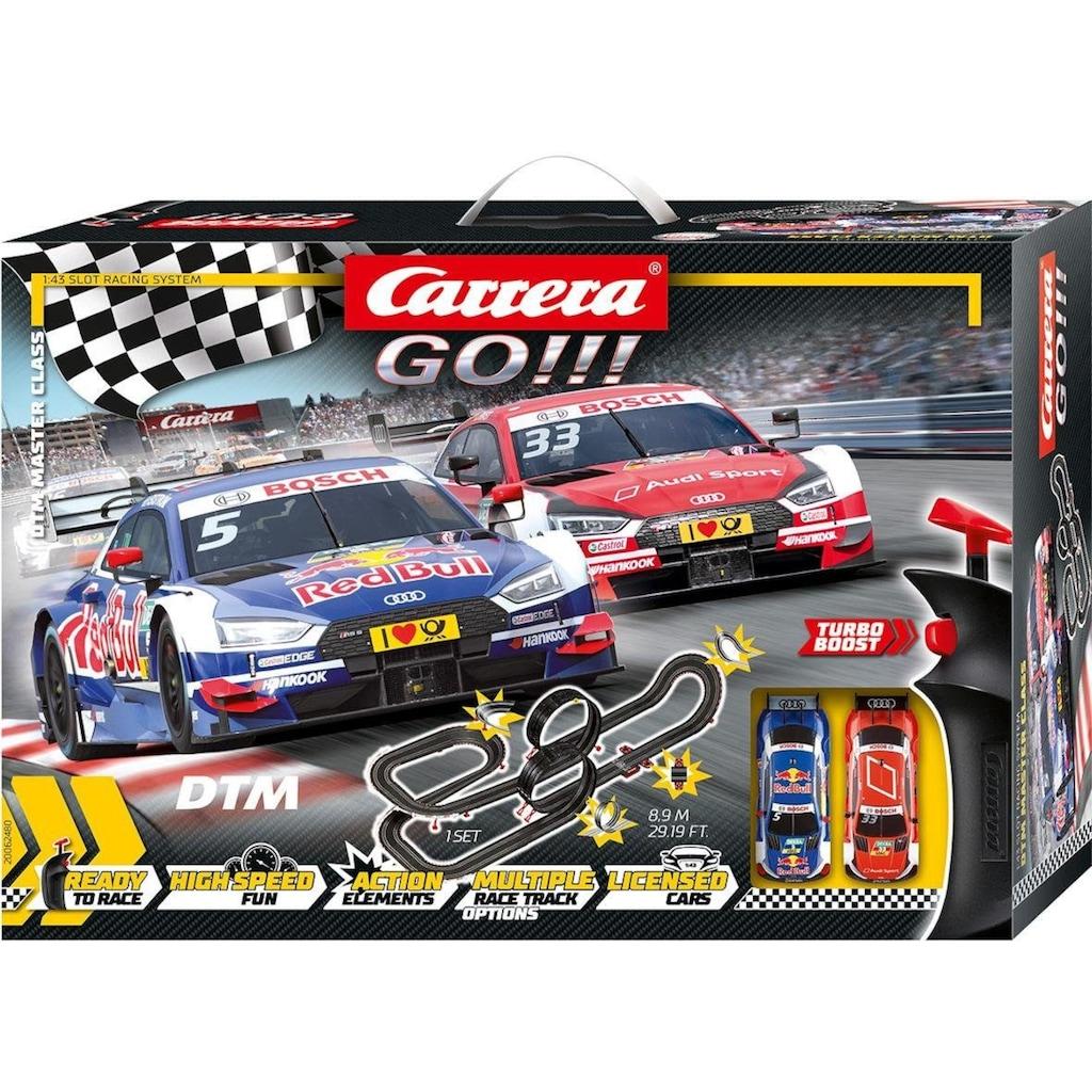 Carrera® Autorennbahn »Carrera® GO!!! - DTM Master Class«, (Set)