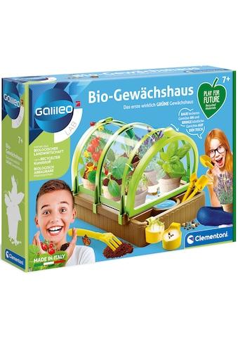 Clementoni® Experimentierkasten »Play for Future - Galileo Bio Gewächshaus«, aus... kaufen