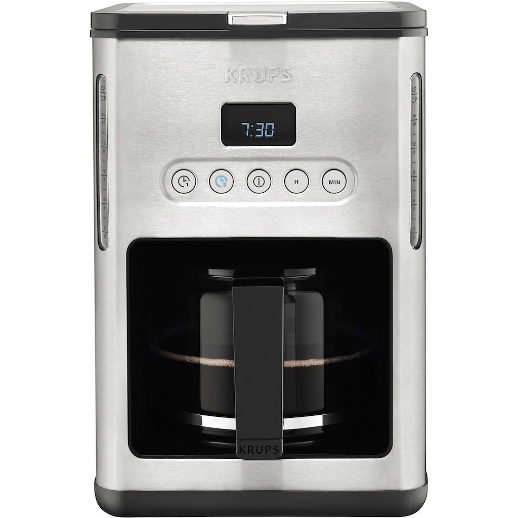 Krups Filterkaffeemaschine »KM442D«, Papierfilter, 1x4, mit Keep Warm-Funktion